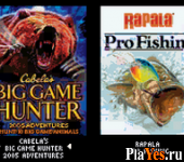 онлайн игра Cabela's Big Game Hunter - 2005 Adventures + Rapala Pro Fishing