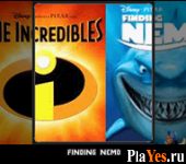 онлайн игра Finding Nemo + The Incredibles
