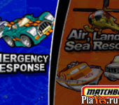 онлайн игра Matchbox Emergency Response + Matchbox Air, Land & Sea Rescue