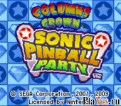 онлайн игра Sonic Pinball Party + Columns Crown