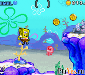 онлайн игра SpongeBob SquarePants - Revenge of the Flying Dutchman + SpongeBob SquarePants - SuperSponge