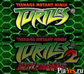 онлайн игра Teenage Mutant Ninja Turtles + Teenage Mutant Ninja Turtles 2 - Battle Nexus