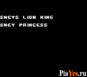 онлайн игра The Lion King + Disney Princess
