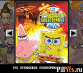онлайн игра The SpongeBob SquarePants Movie + SpongeBob SquarePants and Friends - Freeze Frame Frenzy