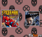 онлайн игра 2 in 1 Game Pack - Spider-Man - Mysterio's Menace + X2 - Wolverine's Revenge