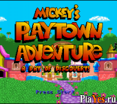 онлайн игра Mickey's Playtown Adventure - A Day of Discovery!