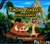 Timon - Pumbaa's Jungle Games