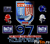 онлайн игра College Football USA 97 - The Road to New Orleans
