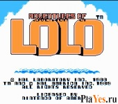 ������ ���� Adventures of Lolo / ����������� ����