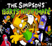 онлайн игра Simpsons The Bart's Nightmare