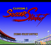 онлайн игра Capcom's Soccer Shootout