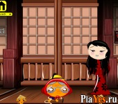 онлайн игра Monkey GO Happy Ninjas