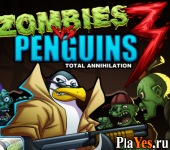 Zombies vs Penguins 3 / Пингвины против Зомби 3