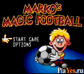 онлайн игра Marko's Magic Football