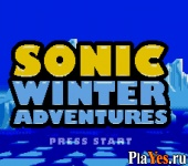 онлайн игра Sonic Winter Adventures
