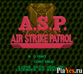 A S P Air Strike Patrol