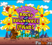 онлайн игра Adventures of Rocky and Bullwinkle and Friends The