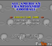 All American Championship Football