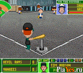 онлайн игра Backyard Baseball