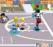 онлайн игра Backyard Basketball