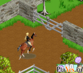 онлайн игра Barbie Horse Adventures - Blue Ribbon Race