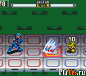 онлайн игра Battle Network Rockman EXE