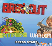 Breakout, Centipede, Warlords
