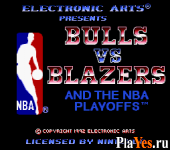 онлайн игра Bulls Vs Blazers and the NBA Playoffs