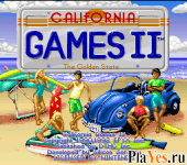 онлайн игра California Games II