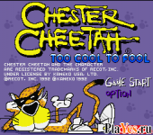 онлайн игра Chester Cheetah - Too Cool to Fool