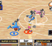 онлайн игра Disney Sports - Basketball