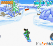 онлайн игра Disney Sports - Snowboarding