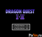 онлайн игра Dragon Quest I - II