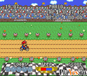 Excitebike Bun Bun Mario Battle Stadium