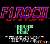 онлайн игра F1 ROC II - Race of Champions