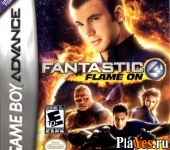 онлайн игра Fantastic 4 – Flame on