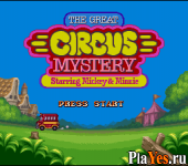 ������ ���� Great Circus Mystery Starring Mickey - Minnie The