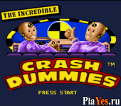 онлайн игра Incredible Crash Dummies The