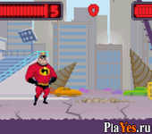 онлайн игра Incredibles, The - Rise of the Underminer