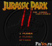 онлайн игра Jurassic Park Part 2 The Chaos Continues