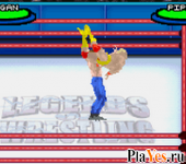 онлайн игра Legends of Wrestling II