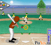 онлайн игра Little League Baseball 2002