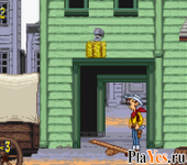 онлайн игра Lucky Luke - Wanted!