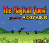 онлайн игра Magical Quest Starring Mickey Mouse The