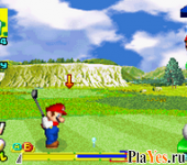 онлайн игра Mario Golf - GBA Tour