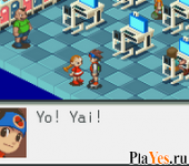 онлайн игра Megaman Battle Network 2