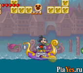 онлайн игра Mickey to Donald no Magical Quest 3