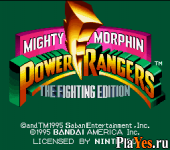 онлайн игра Mighty Morphin Power Rangers - The Fighting Edition