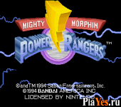 онлайн игра Mighty Morphin Power Rangers