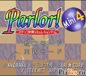 Parlor! Mini 4 - Pachinko Jikki Simulation Game